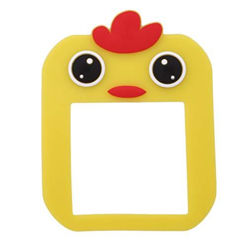JIFNCR Luminous Switch Coller Cartoon Animal Stickers Muraux Commutez Décoratif pour Chambre Salon Home Supplie, Poussin
