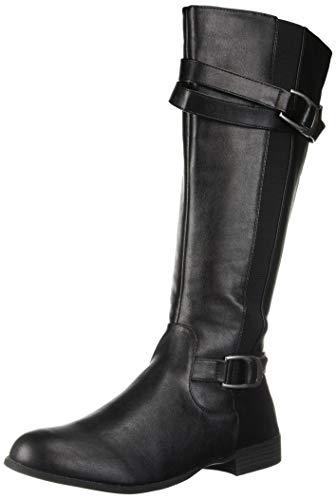 LifeStride Women's Fantastic Tall Shaft Boot Knee High, Black, 9.5 M US