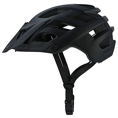 MISS YOU Cascos de Bicicletas Especiales, Cascos de Bicicleta de montaña 55-61 cm, Cascos de Bicicleta de montaña para Hombres y Mujeres Cascos de Bicicletas (Color : Black)