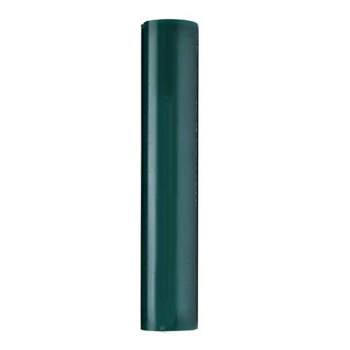 Lantro JS Schmuck Ring Wax Casting Tube, Wax Casting Tube, Green Round Praktische Erstellung und Gestaltung von Ringen für die Schmuckherstellung, Ring Wax Casting Tube Injection(1062E)