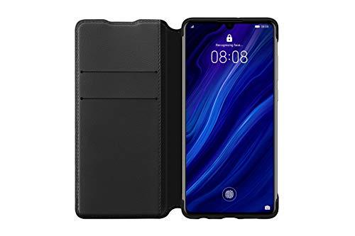 Huawei Booklet Wallet Cover P30, Schwarz, 51992854