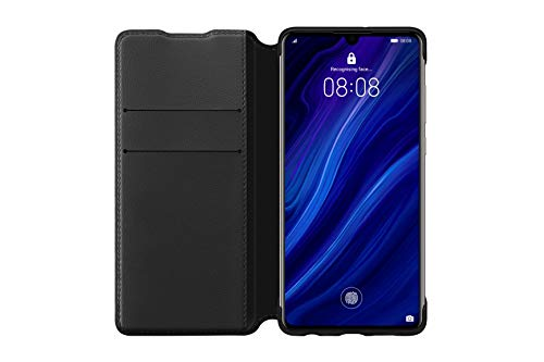 HUAWEI Booklet Wallet Cover P30, Schwarz