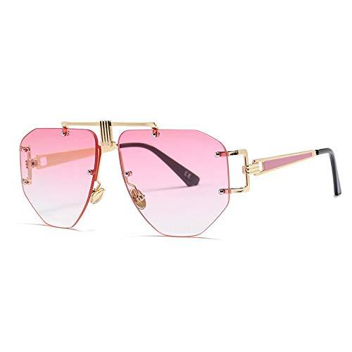 Occhiali da Sole Sunglasses Occhiali da Sole Vintage Senza Montatura Donna Occhiali da Sole retrò...