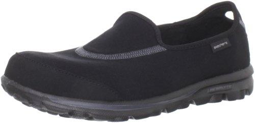 Skechers Performance Women's Go Walk Slip-On Walking Shoes, Black, 7 M US