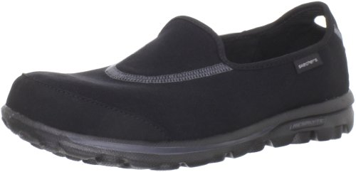 Skechers Performance Women's Go Walk Slip-On Walking Shoes, Black, 8 M US
