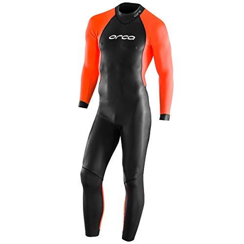 ORCA Core Openwater - Traje de neopreno para hombre (talla 8), color negro y naranja