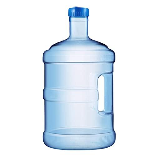 Fenteer Cubo de Agua Pura de Plástico Al Aire Libre con Tapa Y Grifo, Cubo de Agua Potable de Cochecito de Calidad Alimentaria Portátil, Contenedor de Almacen - 7.5L