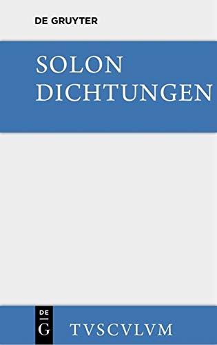 Dichtungen: Sämtliche Fragmente (Sammlung Tusculum)