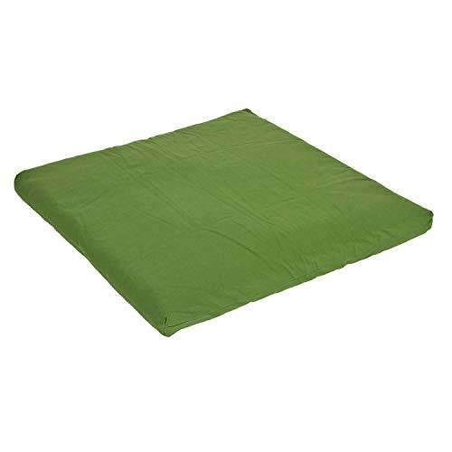 Yogabox Zabuton/Meditationsunterlage Basic 80x80 cm, Olive