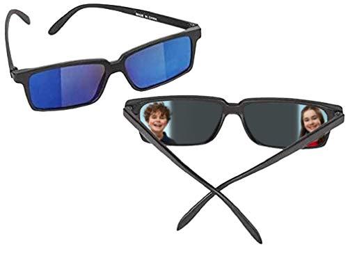 Zugar Land Top Secret Spy Glasses for Kids - Rear View Sunglasses. View Behind You! Detective Gadget. Perfect Party Favors. (1 Pack)