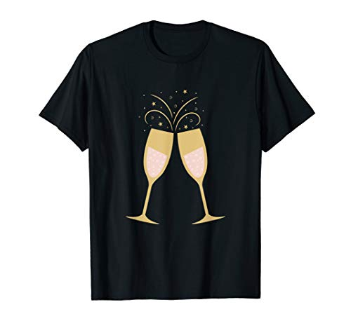 Champagne Toast Wedding Party Celebration