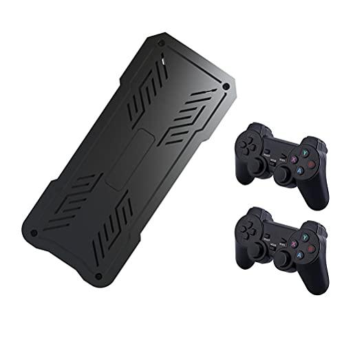 WSTERAO Controlador inalámbrico Consola de Juegos HD Videojuego inalámbrico HD 4K TV con 64G TF Juegos 5200 incorporados Controlador inalámbrico 2.4G 8-10 Horas de Tiempo de Juego