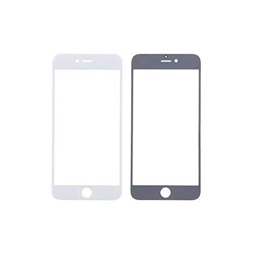 HOUSEPC Cristal Frontal De Vidrio para El iPhone 6 Plus - Pantalla Táctil 6s Más Blanco