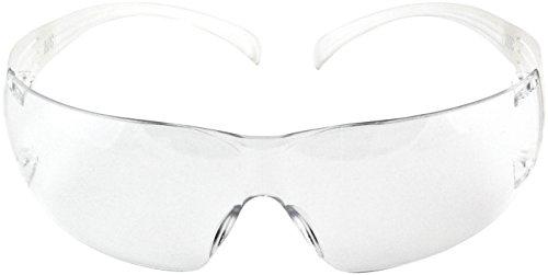 3M Secure Fit 200 Schutzbrille, AS, AF, UV, PC, klar, Rahmen transparent, 1 Stück, SFIT0AF