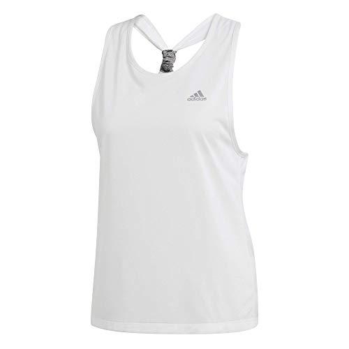 adidas Damen Club Tie Tennis Tank, Damen, Top, Club Tie Tennis Tank, weiß, X-Large