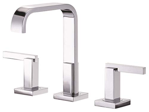 Danze D304644 Sirius Widespread Bathroom Faucet with Metal Touch-Down Drain, Chrome