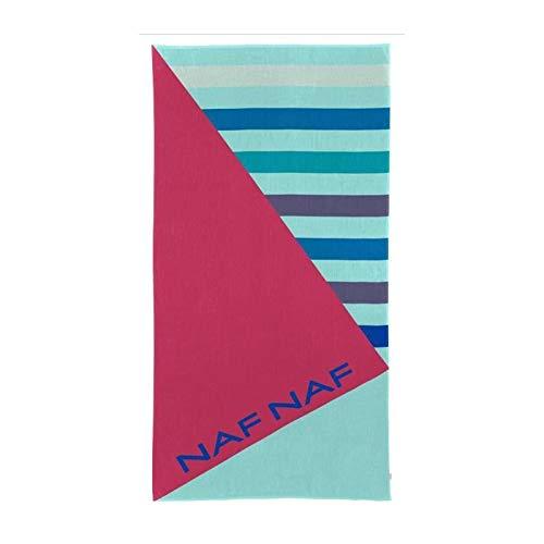 NAF NAF CLEY Toalla de playa - 100% Algod�n - Multicolor - 80 x 160 cm