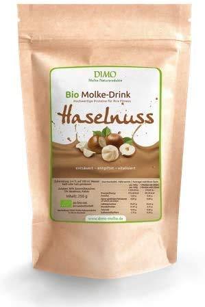 DIMO BIO Molke Drink Haselnuss mit Inulin 250 g