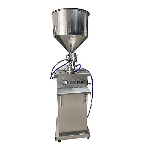 Yu Liao Máquina llenadora de líquidos en Pasta, llenadora neumática de Botellas, máquina llenadora Manual de líquidos para champú en Crema, llenadora de Aceite de Miel cosmética