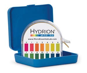 Double Roll 6.0-9.5 pH Micro Essential Lab MF-1608 Hydrion Microfine Short Range pH Test Paper Dispenser