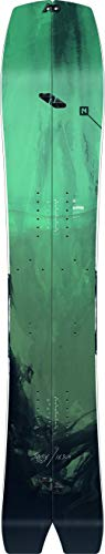 Nitro Snowboards Herren Boards Squash BRD'20 All Mountain Swallowtail Splitboard Backcountry Snowboard, mehrfarbig, 163 cm