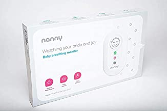 NANNY Baby Movement European Monitor - EU Medical device SIDS Certified - NOW ON US MARKET + Breastfeeding Apron.