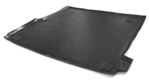 kh Teile Kofferraumwanne passend für Golf 7 / Golf 8 - Antirutsch Kofferraum Schalenmatte Schutz Wanne, Schwarz, Hoher Rand