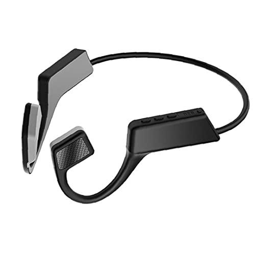 nJiaMe TWS Bluetooth 5.0 Auriculares de conducción ósea de Auriculares a Prueba de Agua con micrófono para Hacer Footing Correr conducción