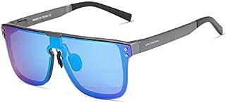 نظارات شمسية من الألمنيوم بتصميم قديم للرجال من فيتديا عدسات مستقطبة