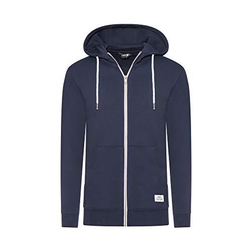 Herren Sweat - Morgan Zip AM Sweatshirt,,per Pack Blau (Insignia B 1991 Insignia B),Small (Herstellergröße: S)