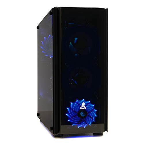 NITROPC - PC Gamer Nitro AMZ 2021 *REBAJAS* (CPU Ryzen 3 4/4N x 4,00 Ghz, T. Gráfica 2 GB, Hdd 1 Tb, Ram 16 GB, W10) + WIFI de regalo. pc gamer, pc gaming, ordenador para juegos (actualizado abril 202