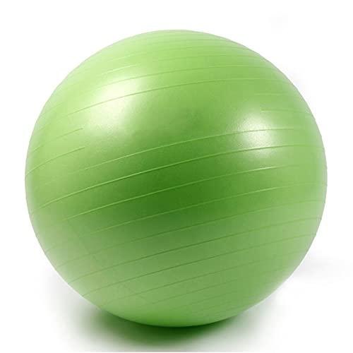 YANGHUI Bolas De Masaje Bola De Yoga Deporte Bola De Yoga Bola Suiza Bola Gimnasio Bola Anti Ráfaga De Entrenamiento (Oficina Y Hogar Y Gimnasio) Bola De Birthing Ball Ball,Verde,70cm