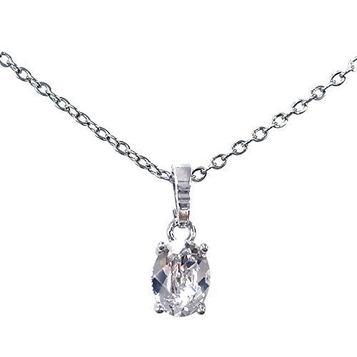 One&Only Jewellery 正規スワロフスキー エレメンツ採用 オーバル ペンダント SWAROVSKI ELEMENTS (オーバル)