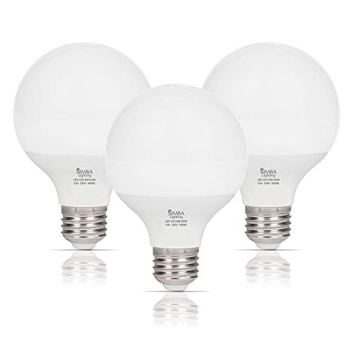 Simba Lighting LED Vanity Globe G25 (G80) Light Bulb...