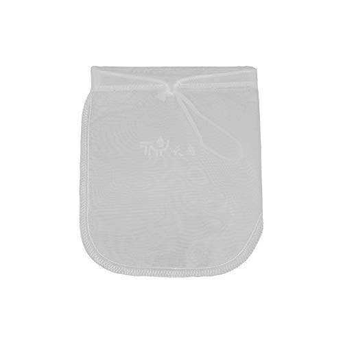 RXING - Bolsa de leche para nueces reutilizables de algodón natural, para colar almendra/leche de soja, colador de yogur griego reutilizable de malla fina de queso colador