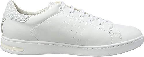Geox Jaysen A, niskie tenisówki damskie, Biały biały1001-40 EU