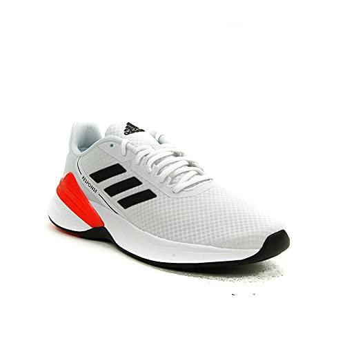adidas Response SR, Zapatillas de Running Hombre, FTWBLA/NEGBÁS/Rojsol, 42 2/3 EU