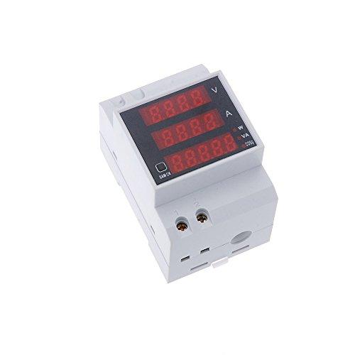 Kkmoon D52-2048 Multímetro Digital (AC 80-300V 100A)
