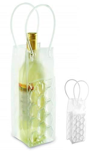 Necuma Weinkühler mit Eisgel zum einfrieren/Sektkühler Flaschenkühler
