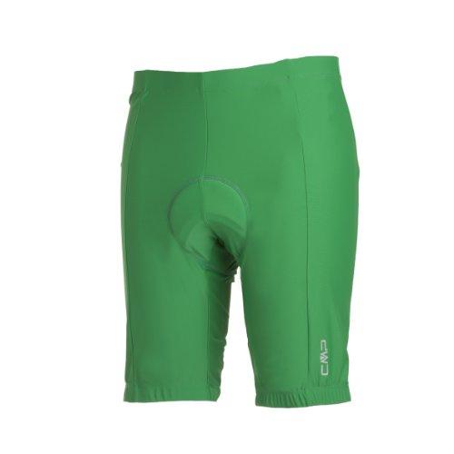 CMP Short de Cyclisme pour Homme - Vert - Vert,