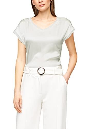 s.Oliver BLACK LABEL 150.10.104.12.130.2062962 Camiseta, Blanco, 36 para Mujer
