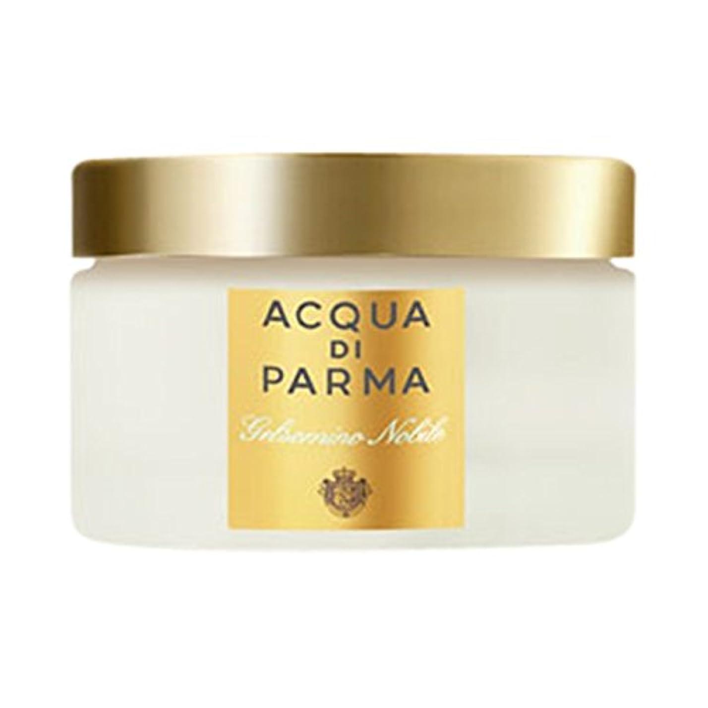 持っている意味のあるおなかがすいたアクア?ディ?パルマGelsominoノビルボディクリーム150ミリリットル (Acqua di Parma) (x6) - Acqua di Parma Gelsomino Nobile Body Cream 150ml (Pack of 6) [並行輸入品]
