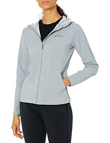 Columbia Damen Softshell-Jacke Heather Canyon, Grau (Tradewinds Grey Heather), XS
