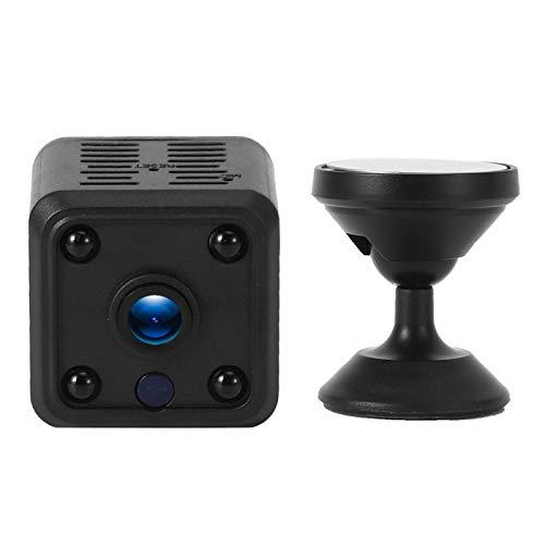 Cámara Wifi Videocámara Mini Sensor Infrarrojo Teléfono Control Remoto 1080P Inalámbrico para Oficina en el Hogar (Regulatorio Británico)