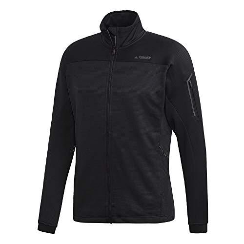 Adidas Herren Stockhorn Fleece Jacke Ii Outdoor, Herren, Stockhorn Fleece Jacket Ii, schwarz, XX-Large