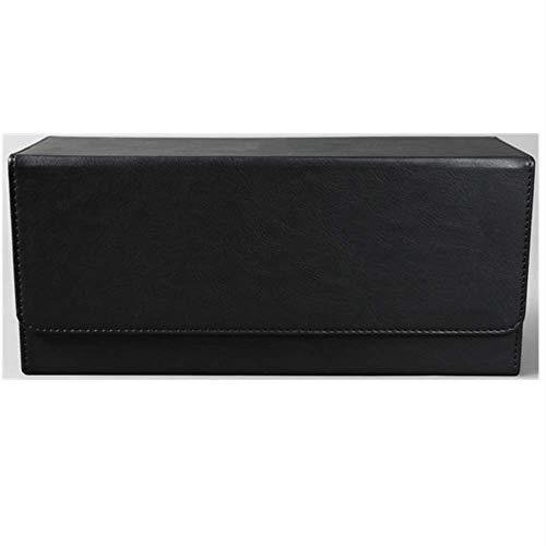 Scatola di immagazzinaggio in Pelle per CD per Uso Domestico, Contiene 30 scatole per CD, Forte Apertura Magnetica, utilizzata per la conservazione e l'organizzazione