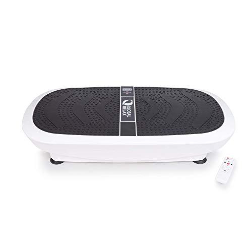 ZEN SHAPER 3D® Plataforma Fitness oscilante vibratoria (modelo 2021) - Tabla de Acondicionamiento corporal estético – Altavoces y música por Bluetooth - Elimine grasa, restaure la elasticidad muscular