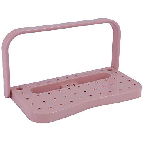 Katigan Organizador de Zapatos de Plástico para Colgar en La Pared Soporte para Almacenamiento Estante Estante Estante para Zapatos Estante Rosa