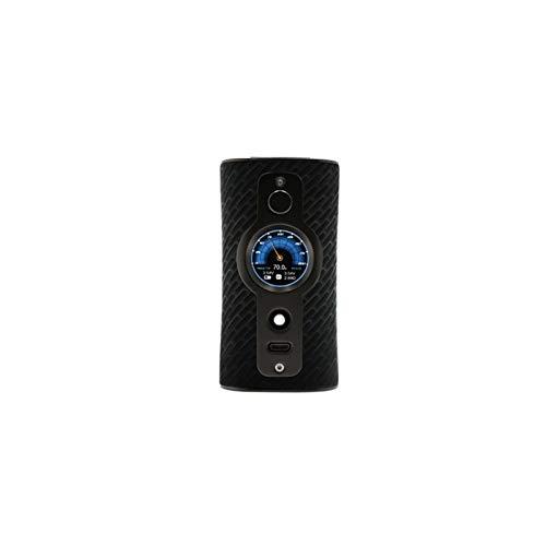 E Zigarette Akku Vsticking VK530 200W TC Box Mod, duale 18650-Batterie TFT IPS HD-Bildschirm, 5-10 Individuelle Hintergrundbilder-Ohne Nikotin Ohne Tabak (Schwarz&Mesh)