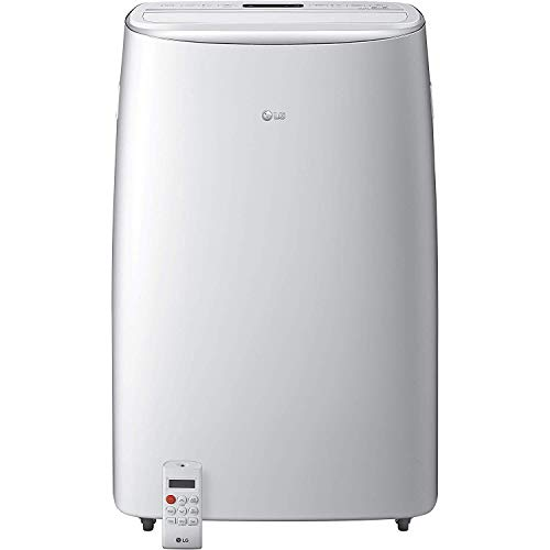 LG LP1419IVSM Smart Dual Inverter Portable Air Conditioner with 10000 BTU Cooling Capacity, 500 sq. ft. Cooling Area, in White